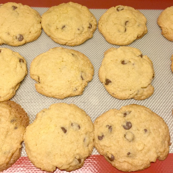 Chocolate Chip Cookies are done