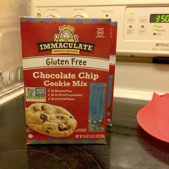 Immaculate Honestly Delicious Chocolate Chip Cookie Mix Box