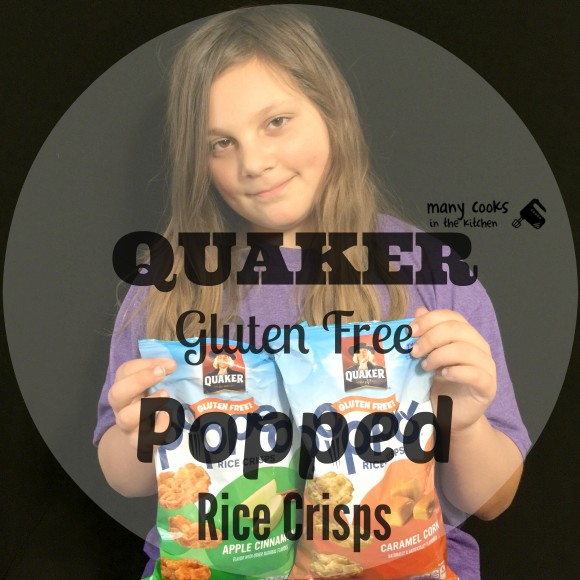 Quaker Gluten Free Popped Rice Crisps